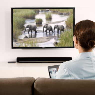 stream sound from the tv with oticon siya