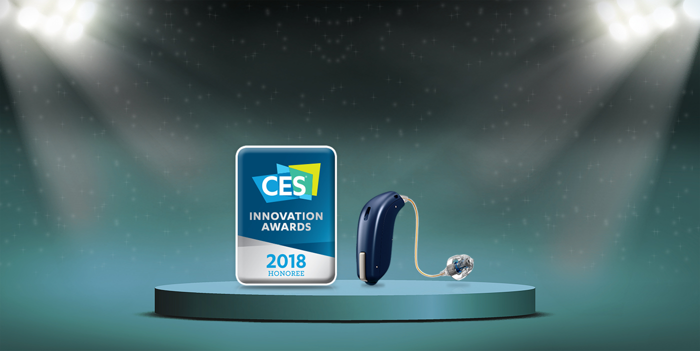 Oticon's HeaingFitness App wins CES Award