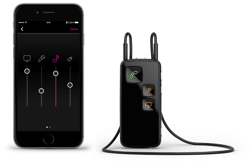 Stream The Sound From The Tv To Your Hearing Aids Oticon