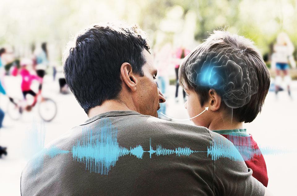 man and boy brainhearing